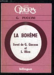 La Bohème. Opéra en 4 tableaux - Couverture - Format classique