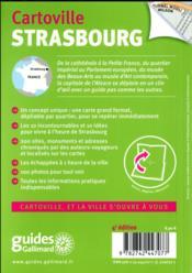 Strasbourg - 4ème de couverture - Format classique