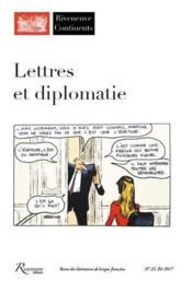 RIVENEUVE CONTINENTS N.23 ; lettres et diplomaties - Couverture - Format classique