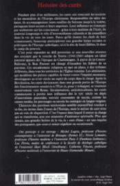 Histoire des cures - Couverture - Format classique