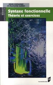 Syntaxe fonctionnelle ; théorie et exercices - Intérieur - Format classique