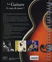 La guitare - 4ème de couverture - Format classique