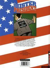 Mister president t.3 ; time machine - 4ème de couverture - Format classique