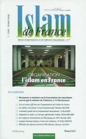 Islam De France N 7 - Couverture - Format classique