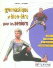 Gymnastique et bien-être pour les séniors - Couverture - Format classique