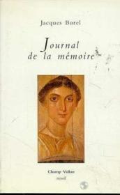 Journal De La Memoire - Couverture - Format classique