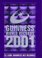 Livre Guinness Des Records 2001 - Couverture - Format classique