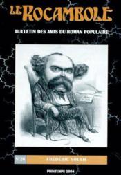 Revue Rocambole N.26 ; Frédéric Soulie, 188-1847 - Couverture - Format classique