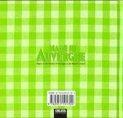 Made In Auvergne - 4ème de couverture - Format classique