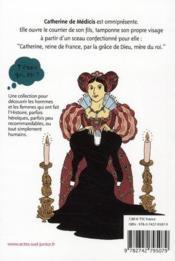 Catherine de Médicis - 4ème de couverture - Format classique