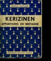 Kerizinen Apparitions En Bretagne? - Couverture - Format classique