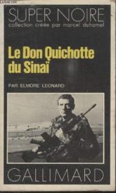 Collection Super Noire N° 105. Le Don Quichotte Du Sinai. - Couverture - Format classique