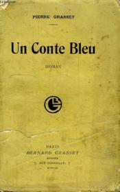Un Conte Bleu. - Couverture - Format classique