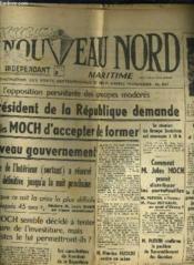 Le Nouveau Nord Maritime N°910 - 5eme Annee - Mercredi 12 Octobre 1949. - Couverture - Format classique