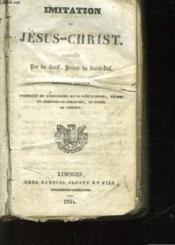 Imitation De Jesus-Christ - Couverture - Format classique