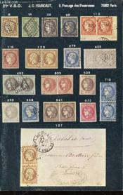 Catalogue 21 Eme Vente Sur Offres : Timbres. - Couverture - Format classique