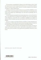 Exercices De Mathematiques Resolus A L'Aide De Maple Et Mathematica Prepas Scientifiques - 4ème de couverture - Format classique