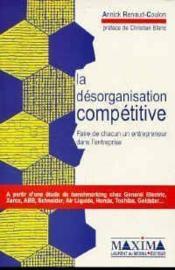 Desorganisation Competitive - Couverture - Format classique