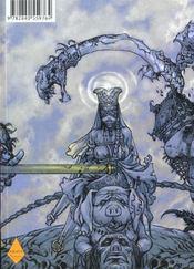 Saiyukiden, l'étrange voyage en Occident t.1 ; le roi des singes - 4ème de couverture - Format classique