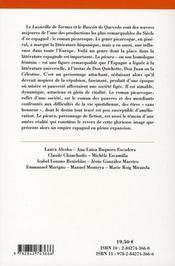 Le roman picaresque - 4ème de couverture - Format classique
