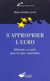 S'Approprier L'Euro ; Methodes Et Outils Pour Les Plus Vulnerables - Intérieur - Format classique