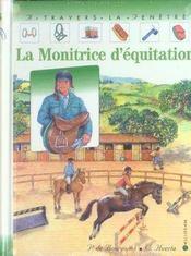 Monitrice d'equitation (la) - Intérieur - Format classique