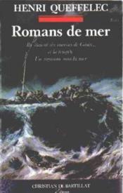 Romans de mer - Couverture - Format classique