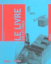 Le livre en lettres - Intérieur - Format classique