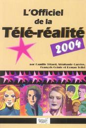 L'Officiel De La Tele Realite - Intérieur - Format classique