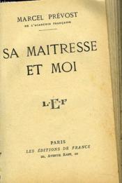 Sa Maitresse Et Moi - Couverture - Format classique