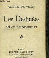 Les Destinees. Poemes Philosoqhiques. - Couverture - Format classique