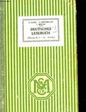 Deutsches Lesebuch - Deutsche Literatur Und Kultur - Couverture - Format classique