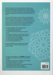 L'art des motifs islamiques ; mode d'emploi - 4ème de couverture - Format classique