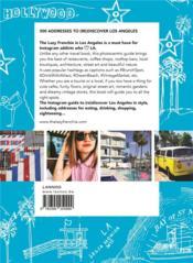 The Lazy Frenchie in Los Angeles ; lifestyle guide for instagram lovers - 4ème de couverture - Format classique