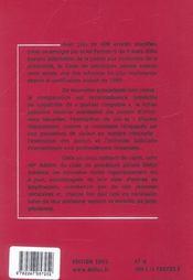 Code De Procedure Penale 2005 ; Droits De L'Homme. Mineurs Delinquants - 4ème de couverture - Format classique