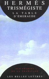 La table d'emeraude et sa tradition alchimique - Intérieur - Format classique