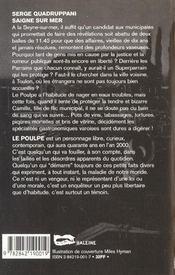 Saigne Sur Mer - 4ème de couverture - Format classique