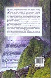 Guide Du Bien Etre Selon La Medecine Chinoise (Le) - 4ème de couverture - Format classique