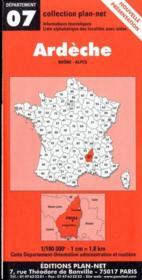 Ardèche - Couverture - Format classique