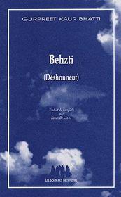 Behzti (déshonneur) - Couverture - Format classique