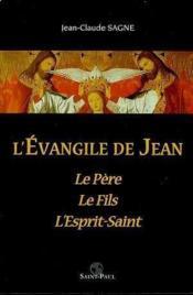 L'Evangile De Jean - Couverture - Format classique