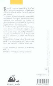 Pondichery blues - 4ème de couverture - Format classique