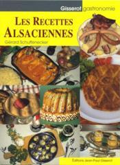 Les recettes alsaciennes - Couverture - Format classique