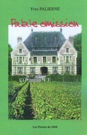 Fatale Omission - Couverture - Format classique