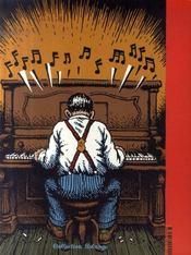Mister Nostalgia - 4ème de couverture - Format classique