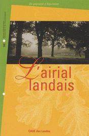 L'airial landais - Couverture - Format classique