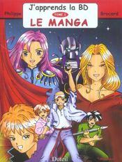 J'Apprends La Bd T.3 ; Le Manga - Intérieur - Format classique