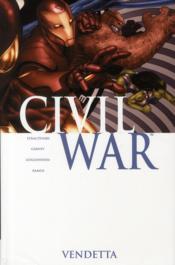 Civil War T.2 ; vendetta - Couverture - Format classique