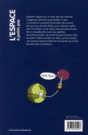 A Petits Pas ; L'Espace - 4ème de couverture - Format classique