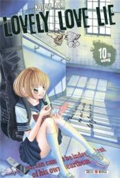 Lovely love lie T.10 - Couverture - Format classique